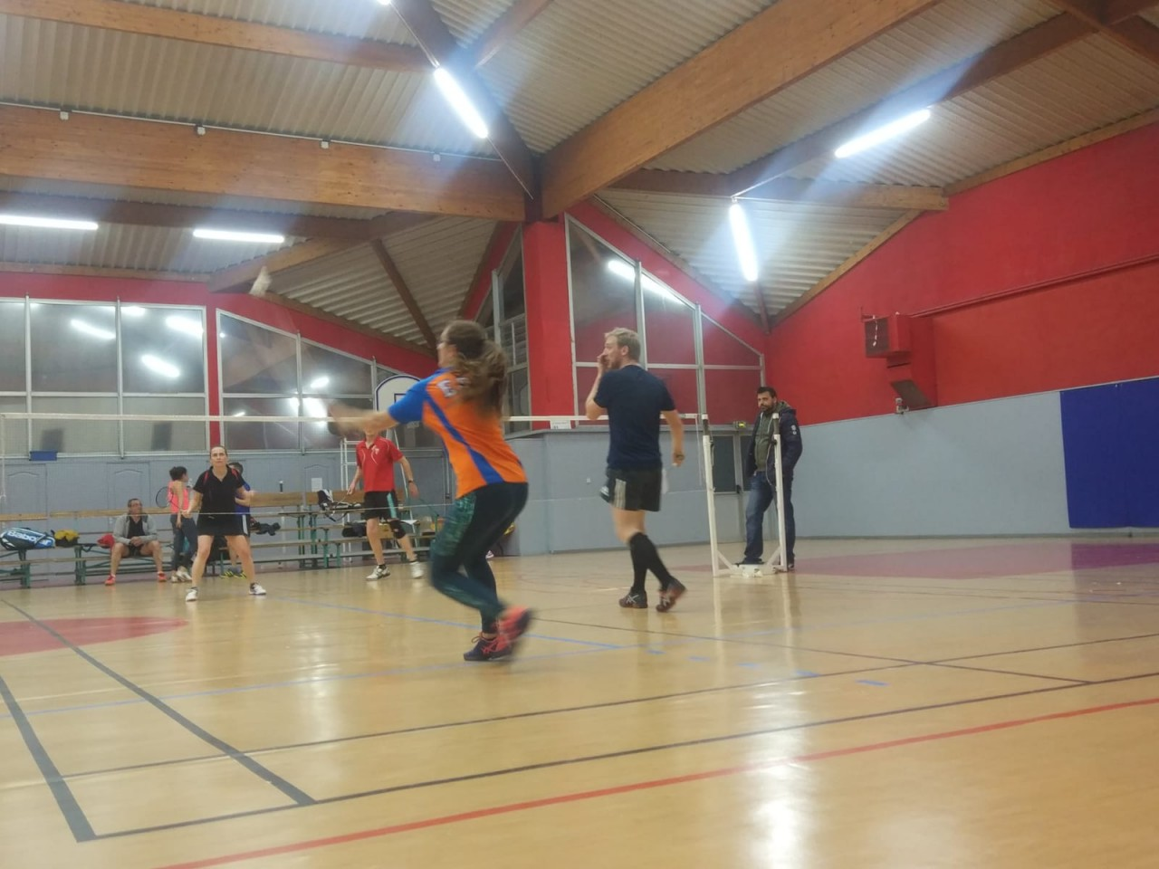 Club Badminton de Peypin contre Bouc-bel-air